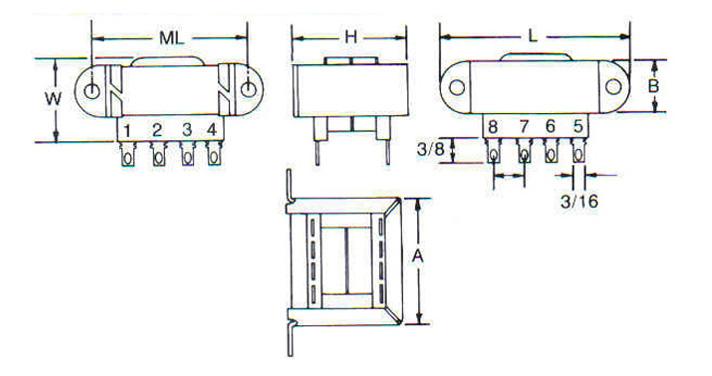 UL Class 2 Transformers  Diagram