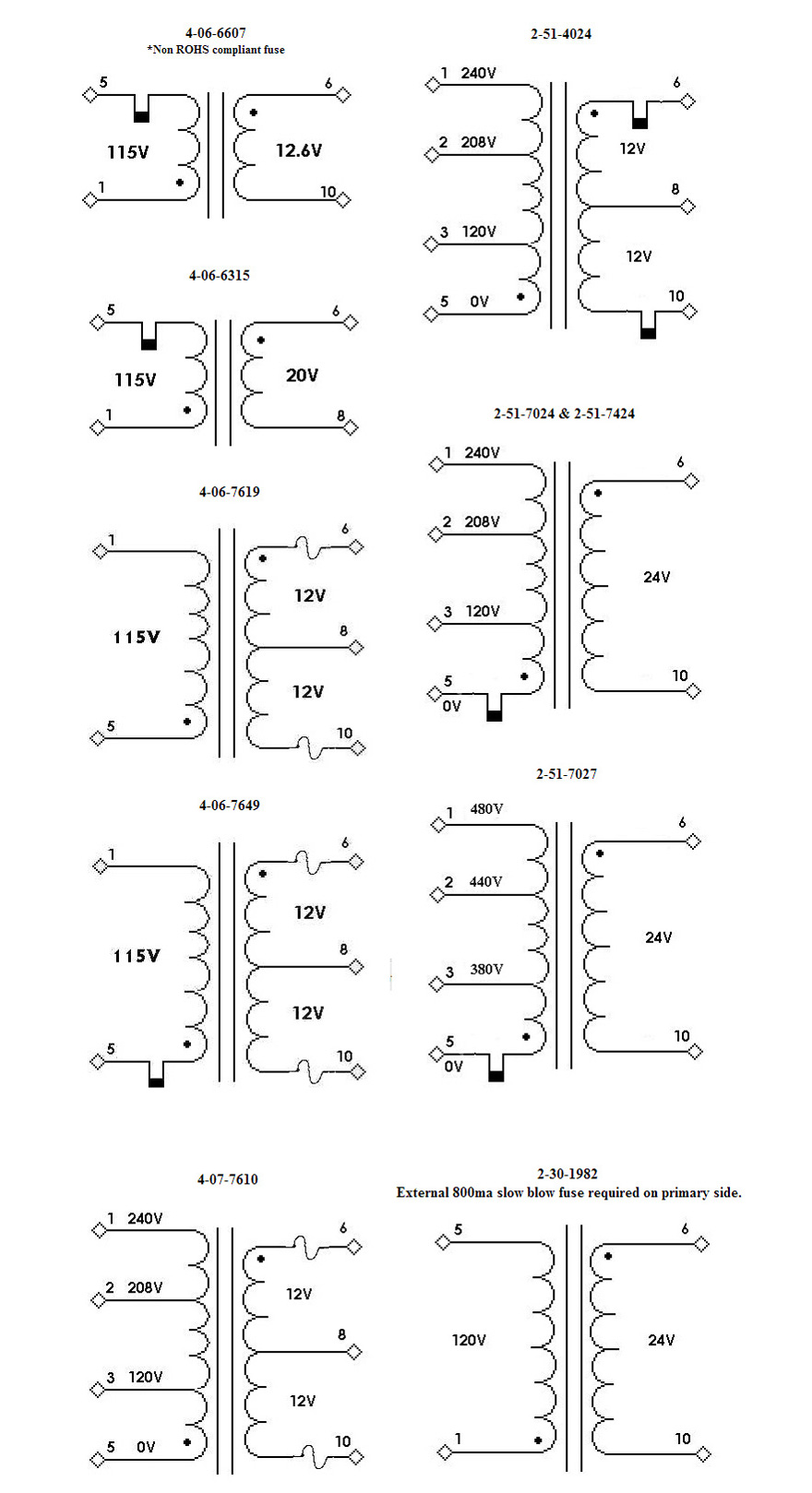 4-06  4-07  U0026 2-51 Series Polarity Schematic