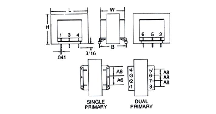 MCI 4-03/4-04 Series  Diagram