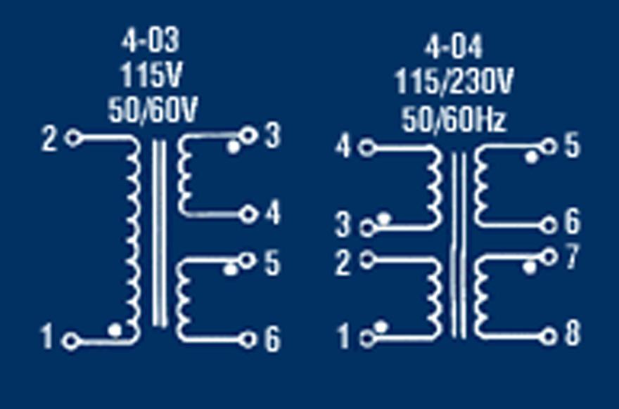 MCI 4-03/4-04 Series  Polarity Schematic