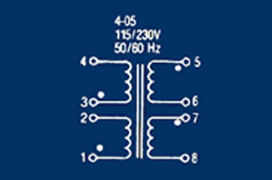 MCI 4-05 Series  Polarity Schematic