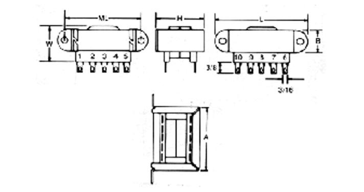 MCI 4-06-x5/4-07-x5 Series  Diagram