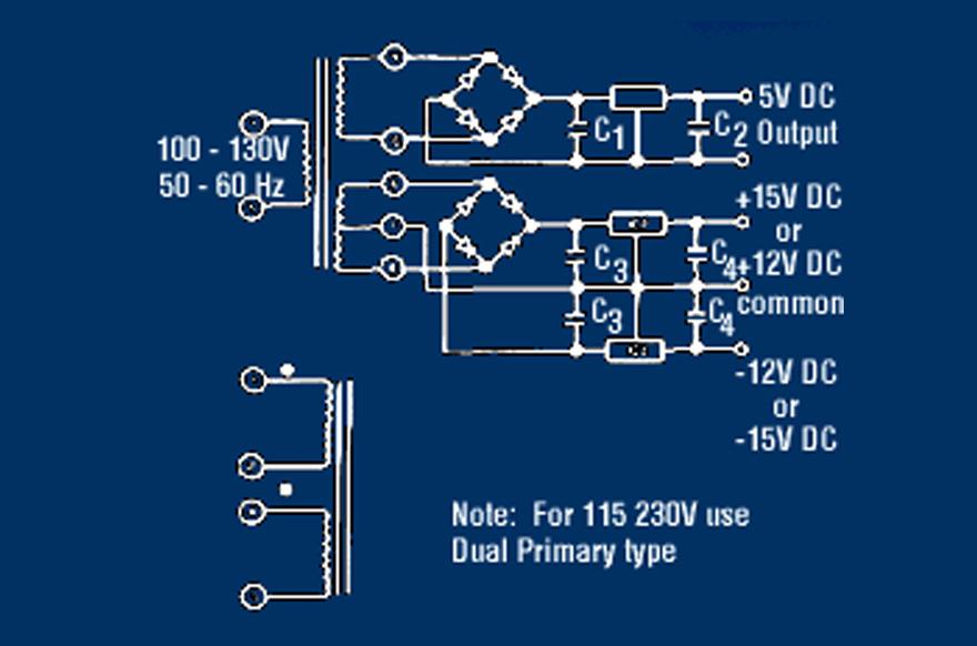 MCI 4-06-x5/4-07-x5 Series  Polarity Schematic
