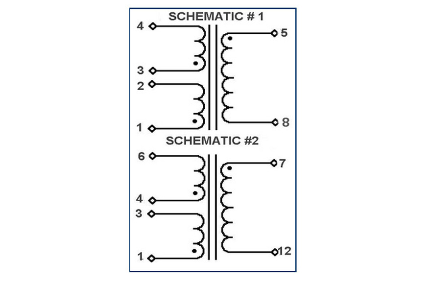 MCI 4-24 Series  Polarity Schematic