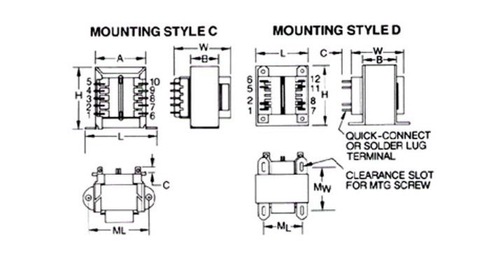 mci transformer wiring diagram for