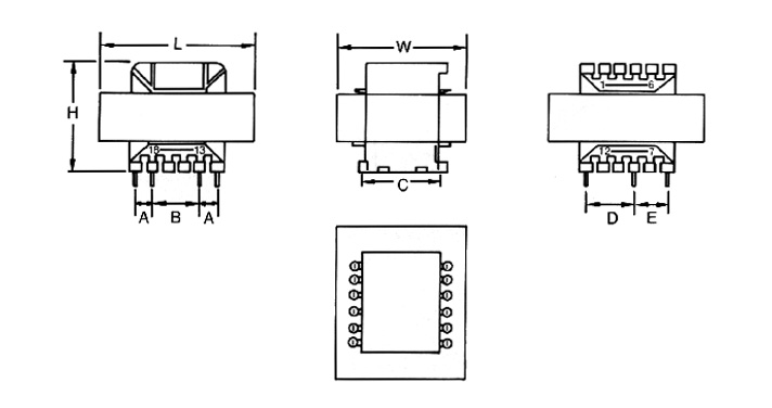 MCI 4-41/4-42 Series  Diagram