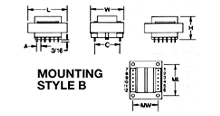 MCI 4-44 Series  Diagram
