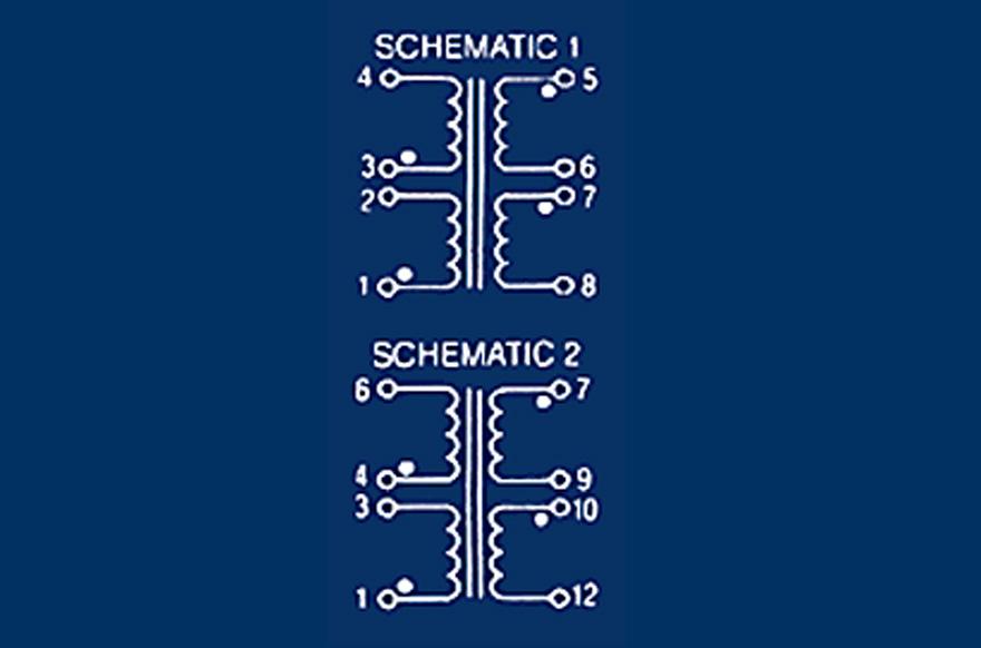 MCI 4-44 Series  Polarity Schematic