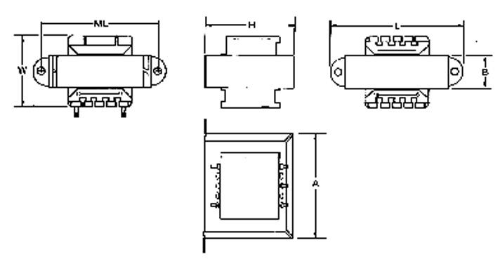 MCI 4-46/4-47 Series  Diagram
