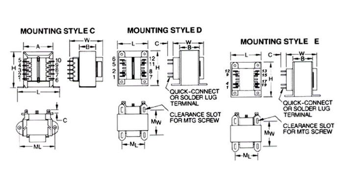 Mci 4-49 Series Diagram