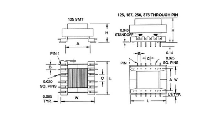 MCI 4-81 Series  Diagram