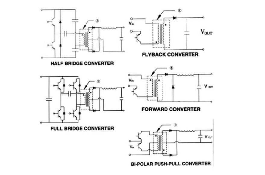 MCI 4-81 Series  Polarity Schematic