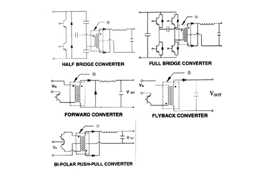 MCI 4-82 Series  Polarity Schematic