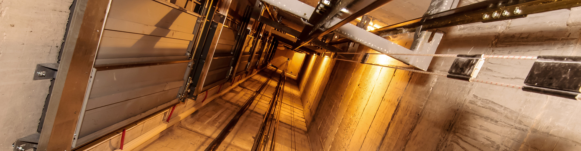 Elevator shaft - MCI ss a recognized leader in the production of transformers and custom magnetics for elevator manufacturers.