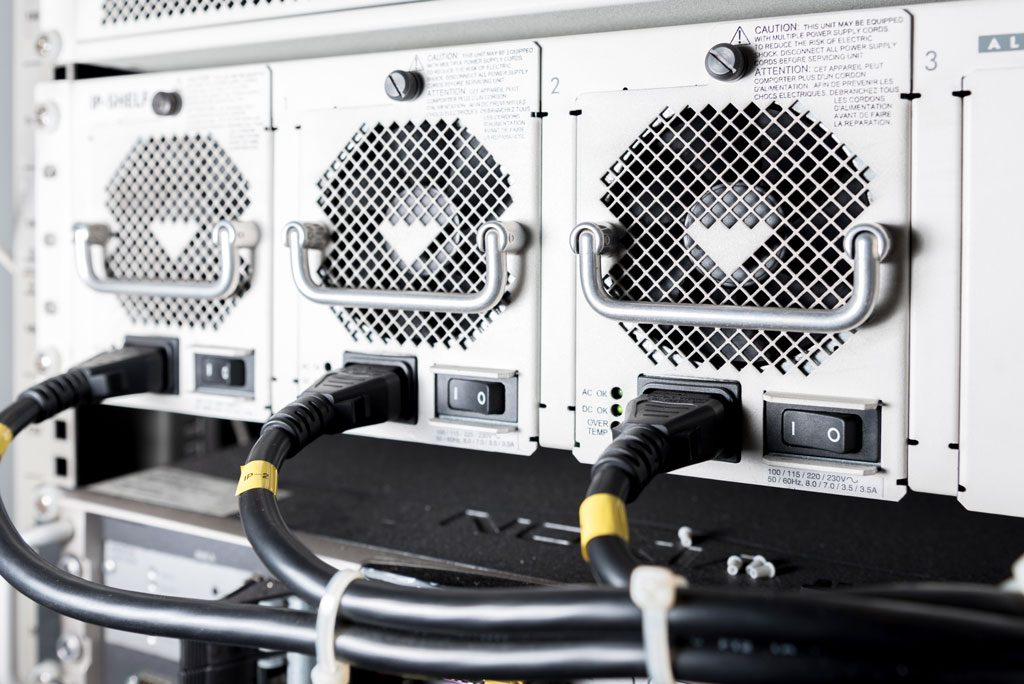 UPS Systems use Ferroresonant Power Supplies